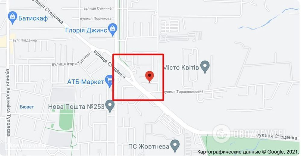 Нападение произошло на ул. Стеценко в Киеве
