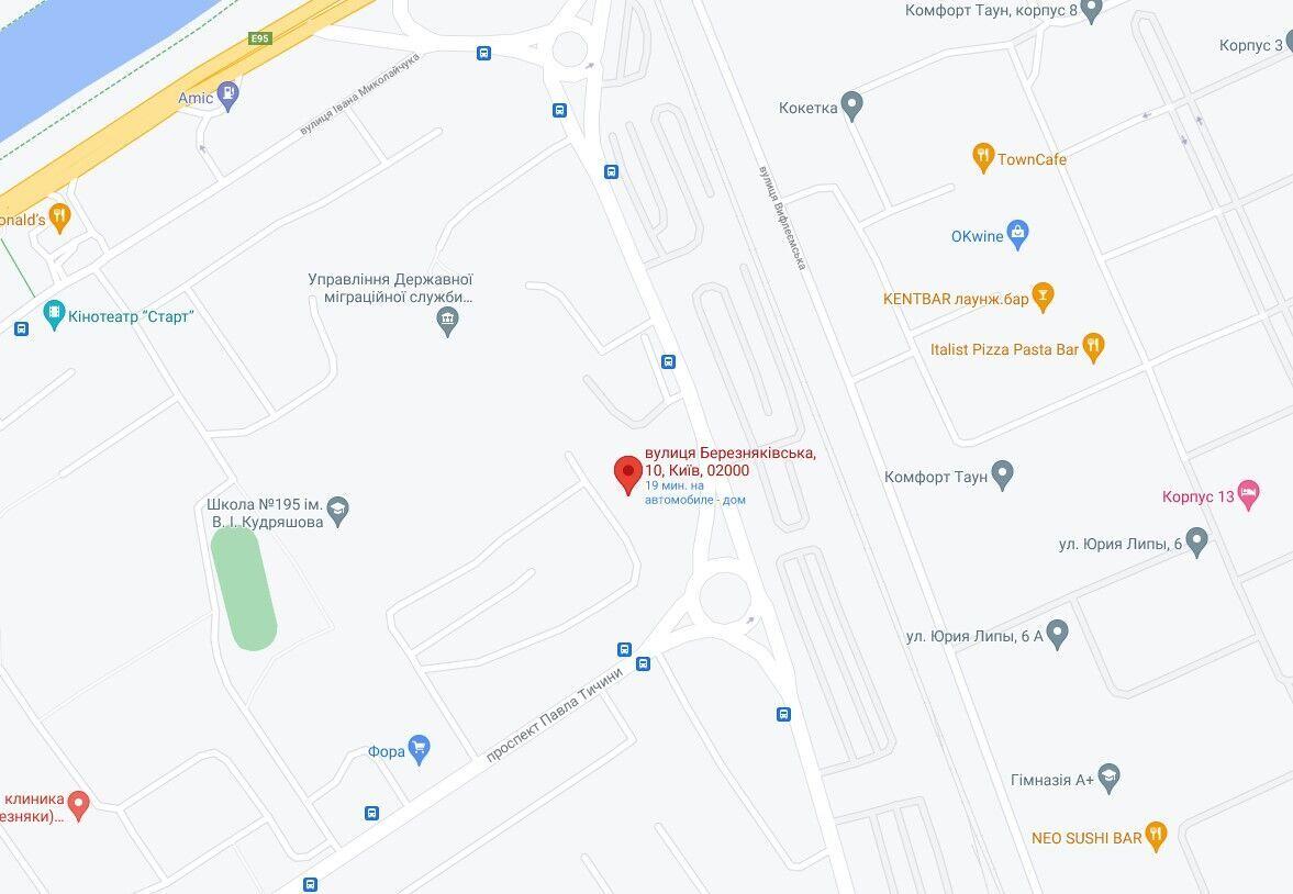 Событие произошло в Днепровском районе.