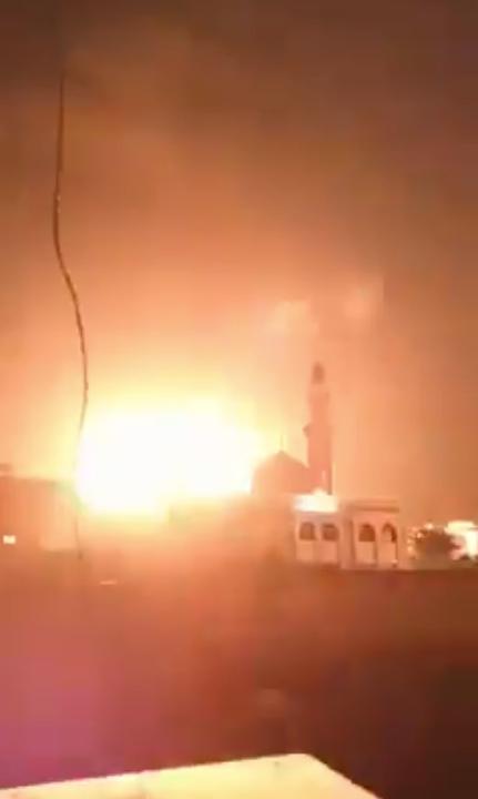 Уничтожение цели израильской армией в Джабалии (сектор Газа)