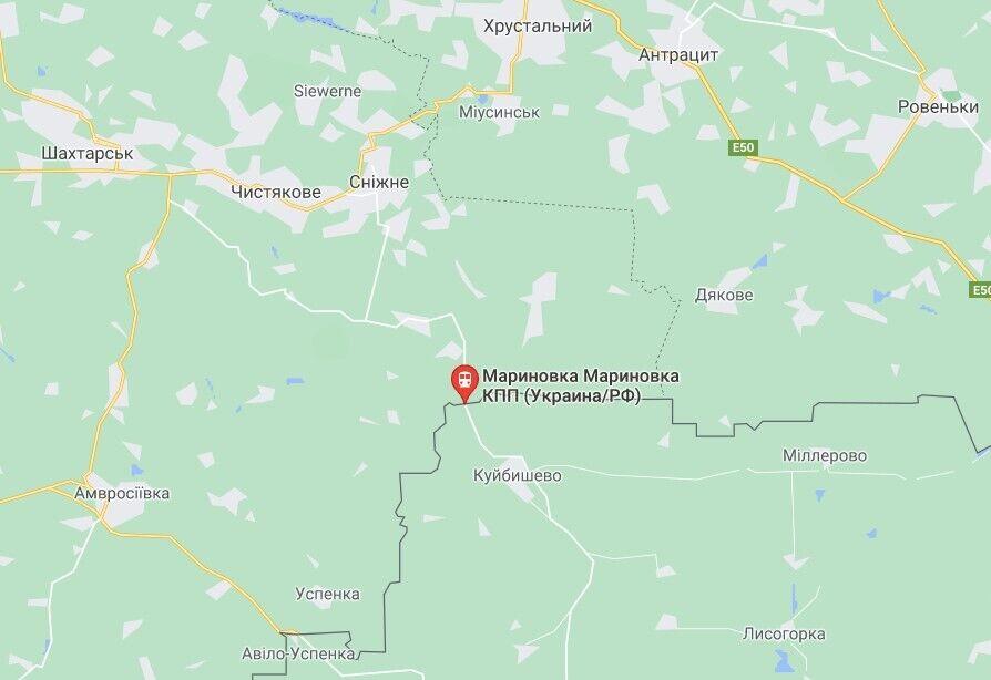 Женщину задержали на неконтролируемом участке украинско-российской границы