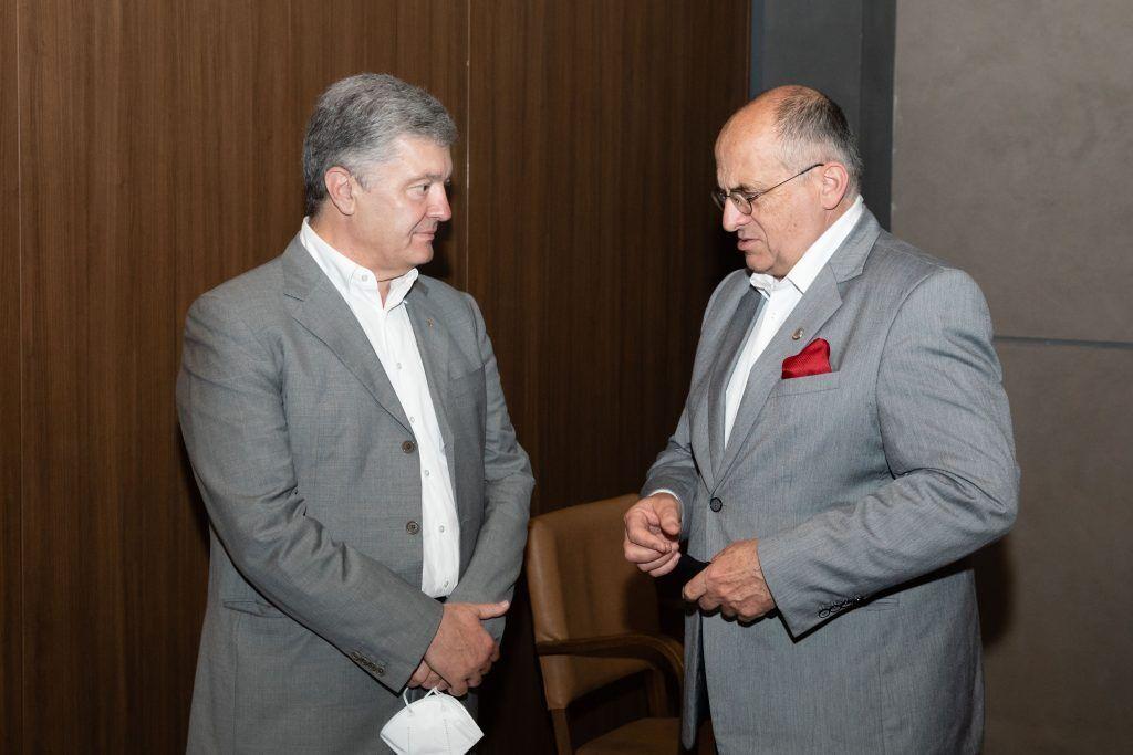 Петр Порошенко и Збигнев Рау