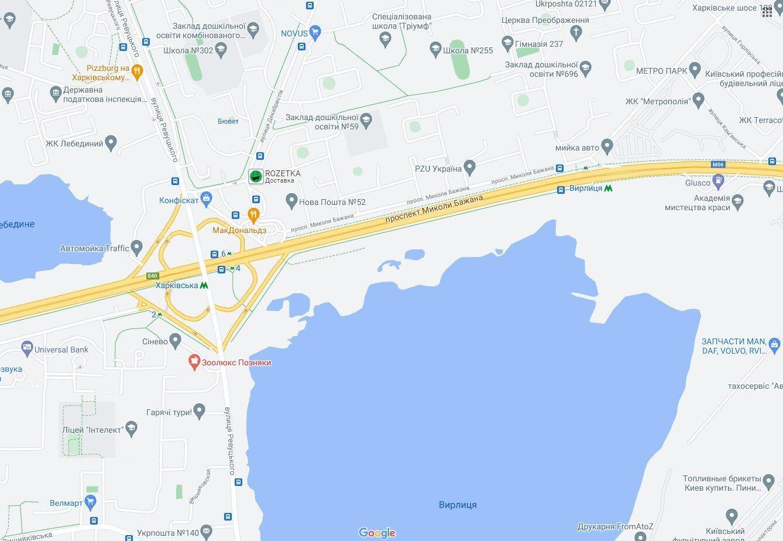ДТП произошло на проспекте Бажана.
