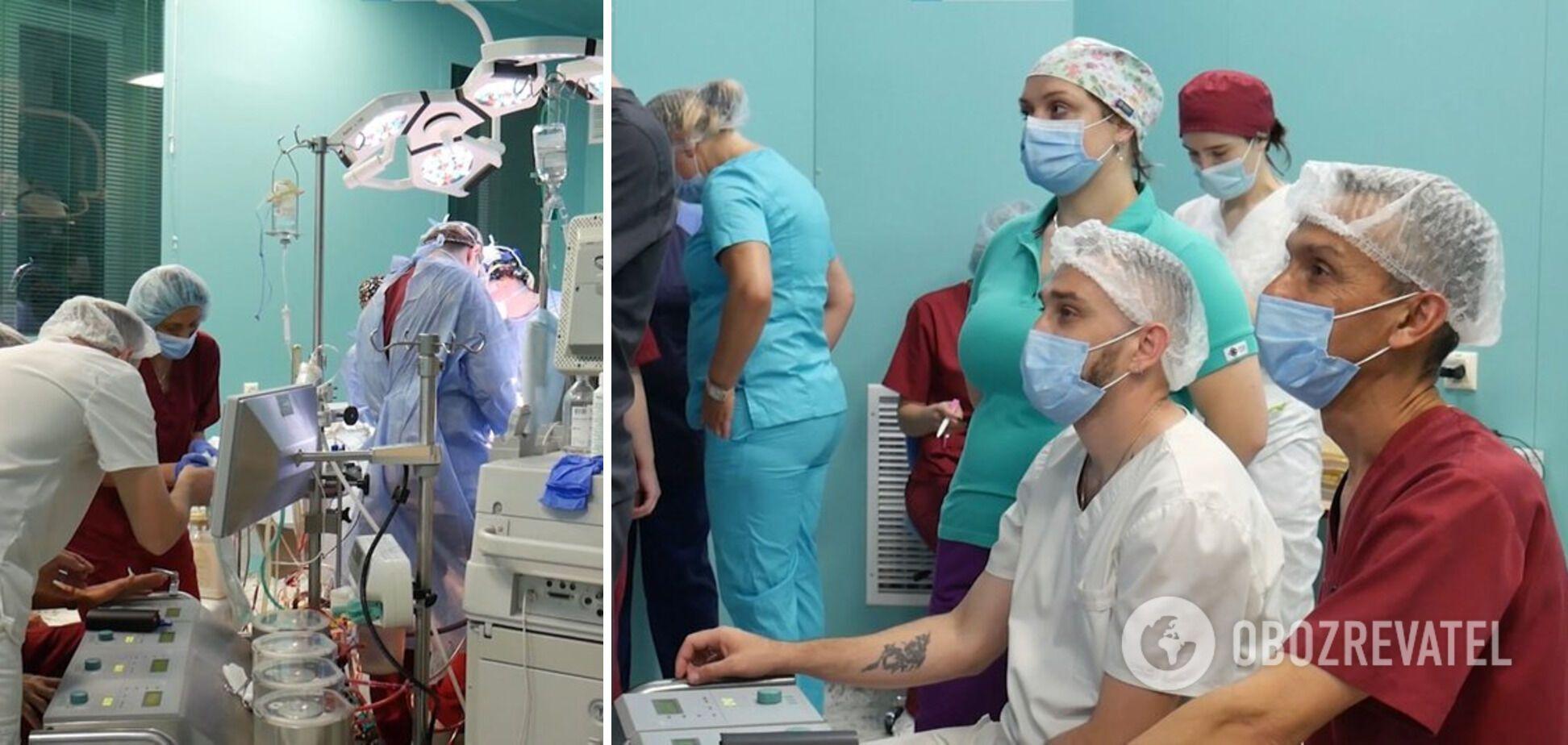 Во Львовской областной клинической больнице впервые проводили операцию по пересадке сердца