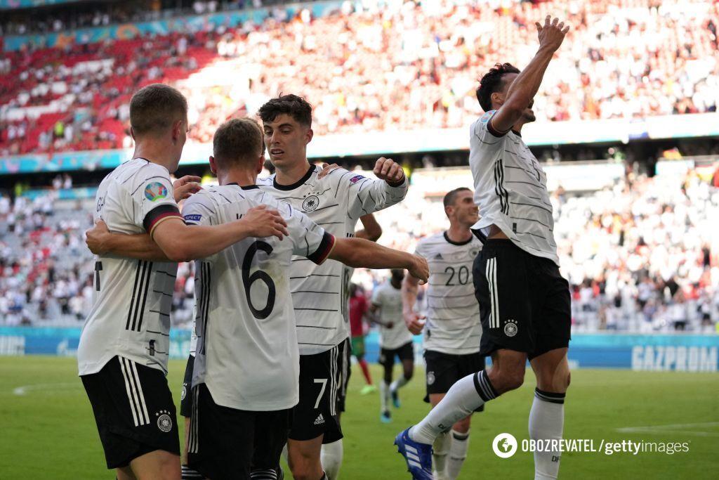 Німеччина робить португальцям дуже боляче