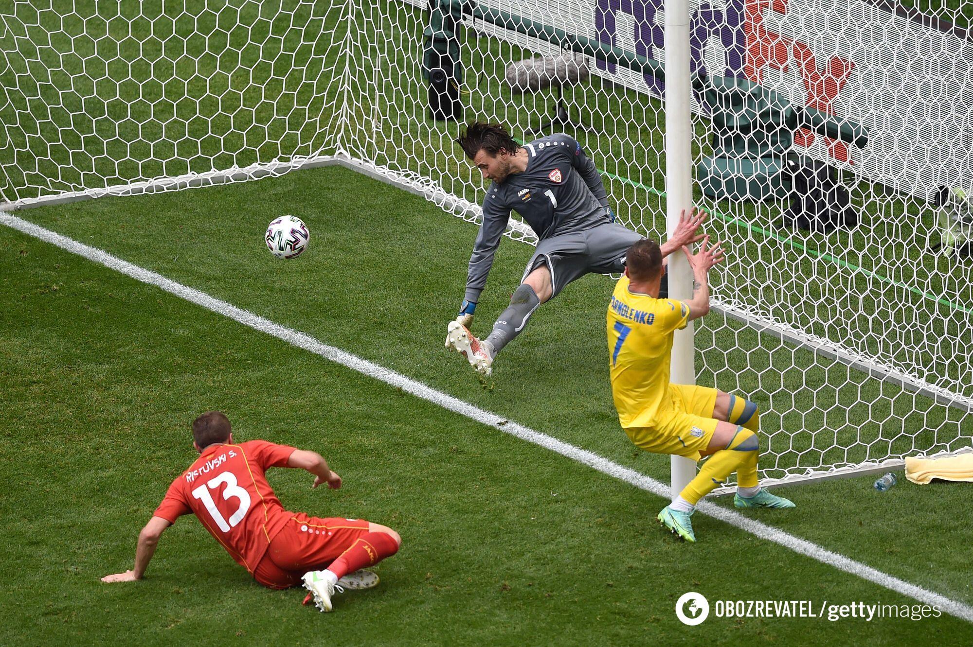 Ярмоленко забил один гол македонцам
