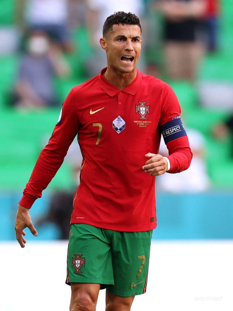 Роналду забив уже три голи на Євро-2020.