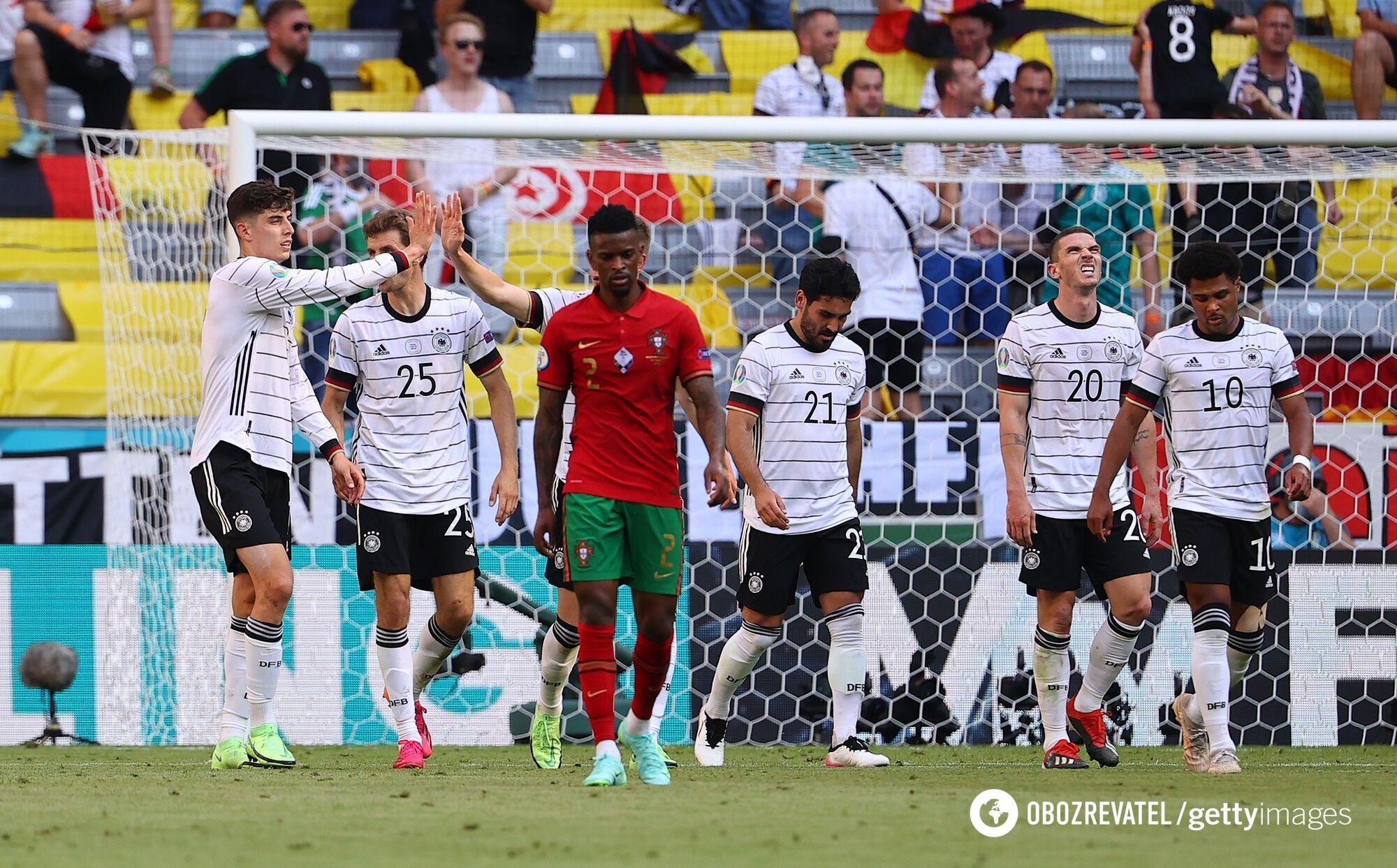 Германия не оставила шансов сопернику.
