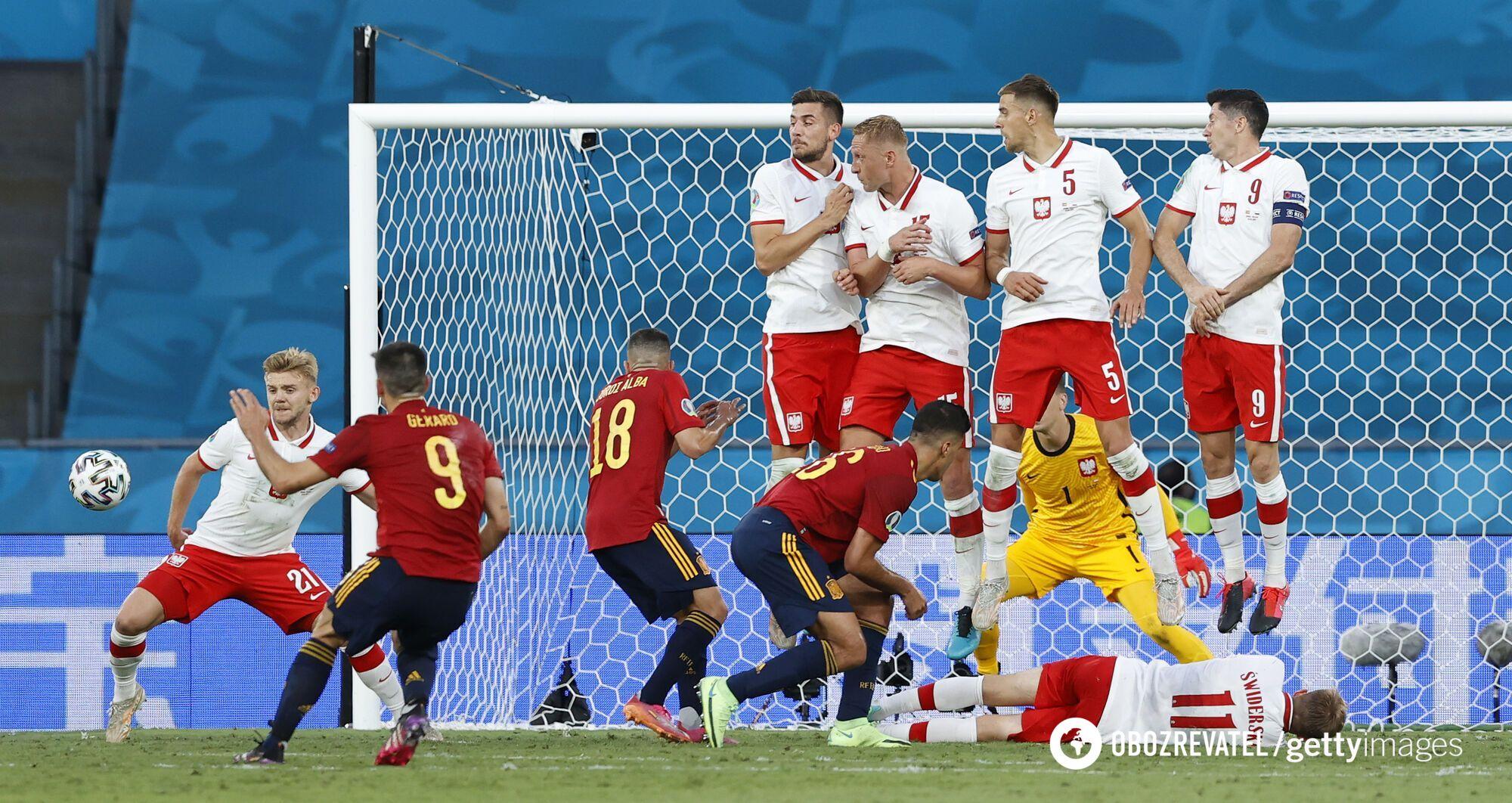 Іспанія великими силами атакувала.