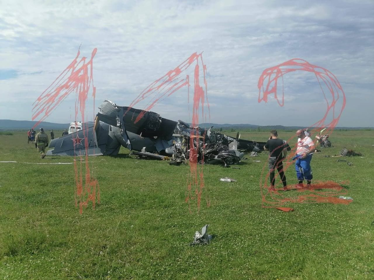 На Кузбасі розбився літак