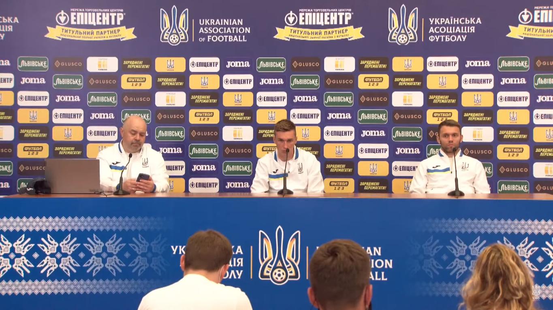 Сидорчук та Крiвцов на пресконференції