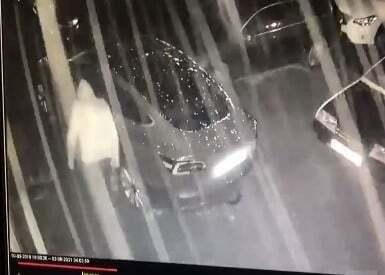 Підозрюваний потрапив на камери відеоспостереження