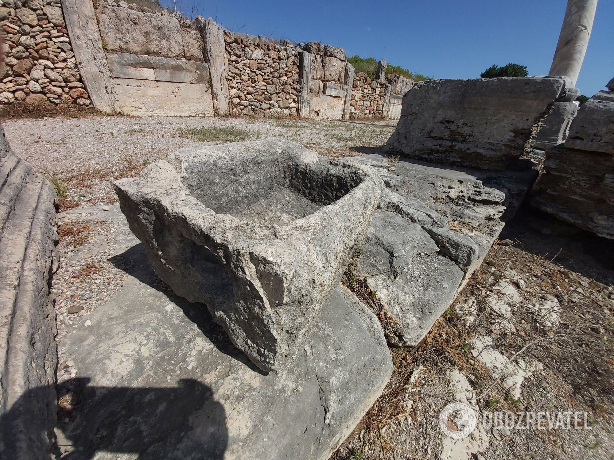 Артефакты из руин Перге