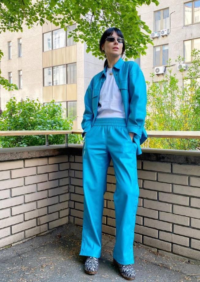 Марія Єфросиніна любить одягати яскраві відтінки