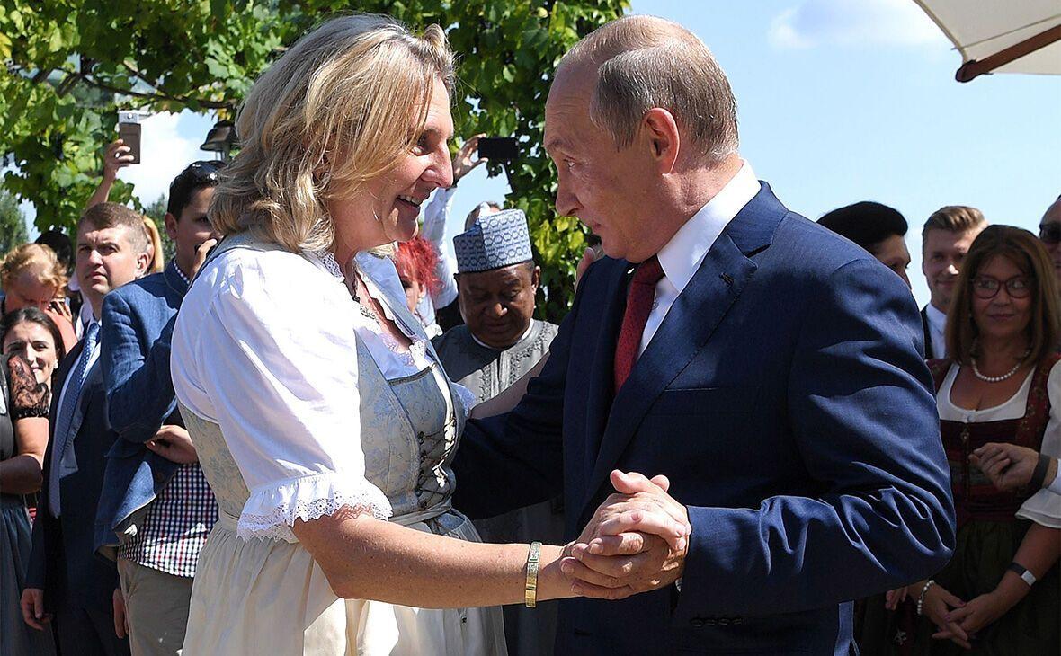Кнайсль і Путін потанцювали на її весіллі