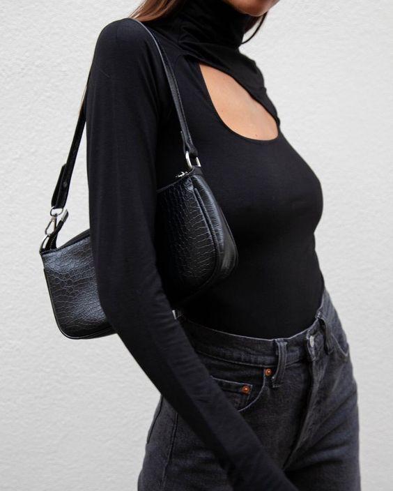 Модна сумка-багет