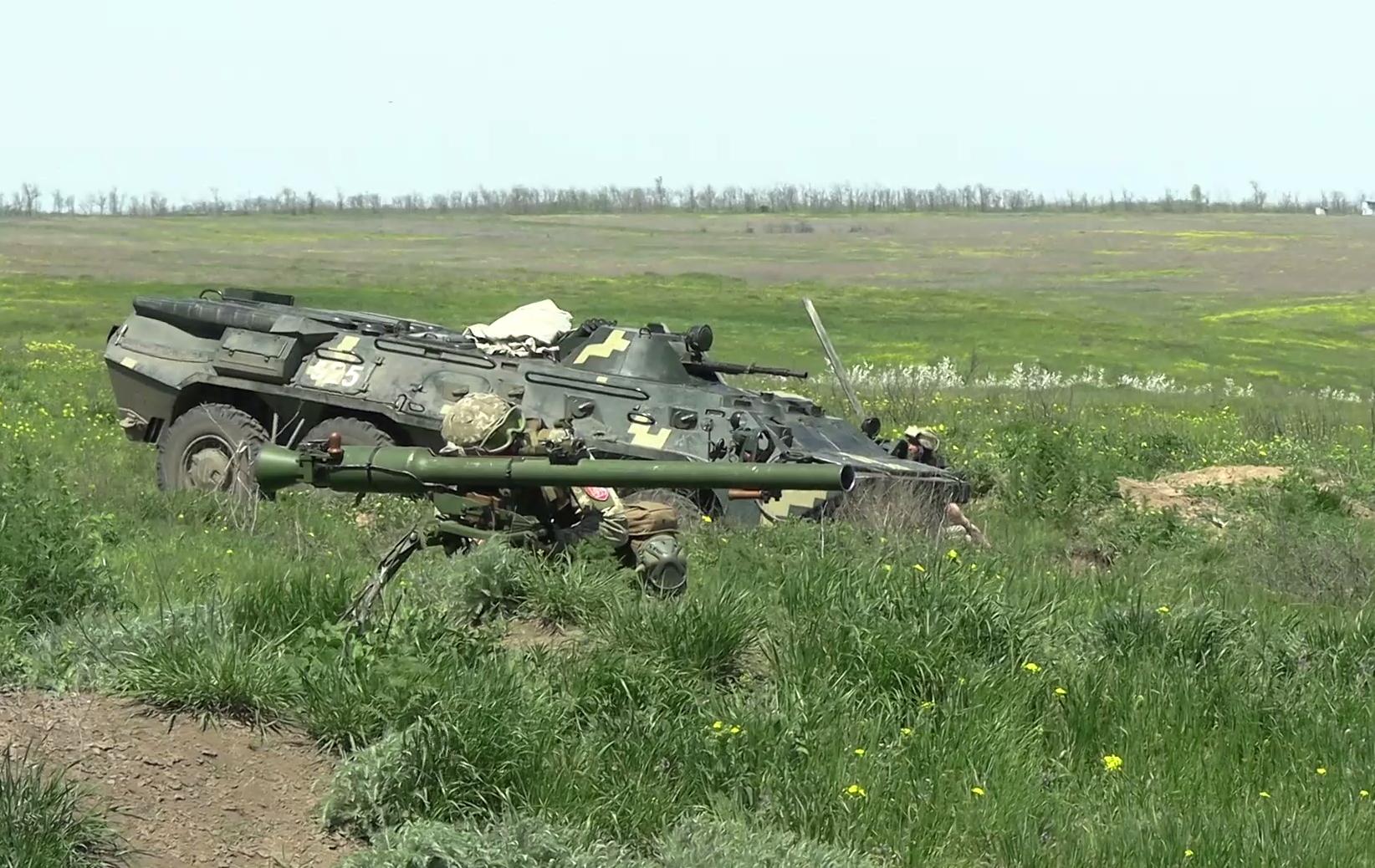 ЗСУ провели масштабні навчання біля окупованого Криму
