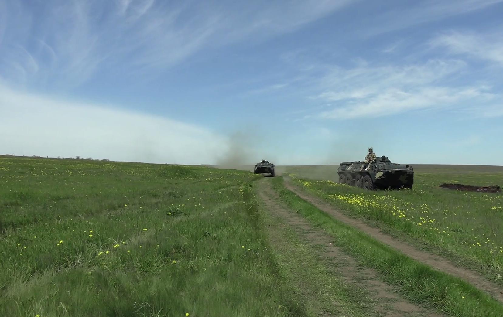 Воїни ЗСУ працювали в наближених до бойових умовах
