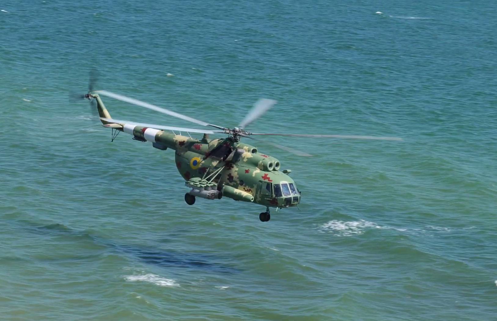 Вертоліт ЗСУ за легендою навчань мав атакувати ворожі судна