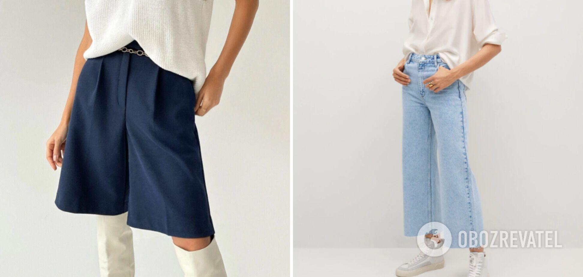 Незамінні речі на літо 2021 – шорти-бермуди і джинси
