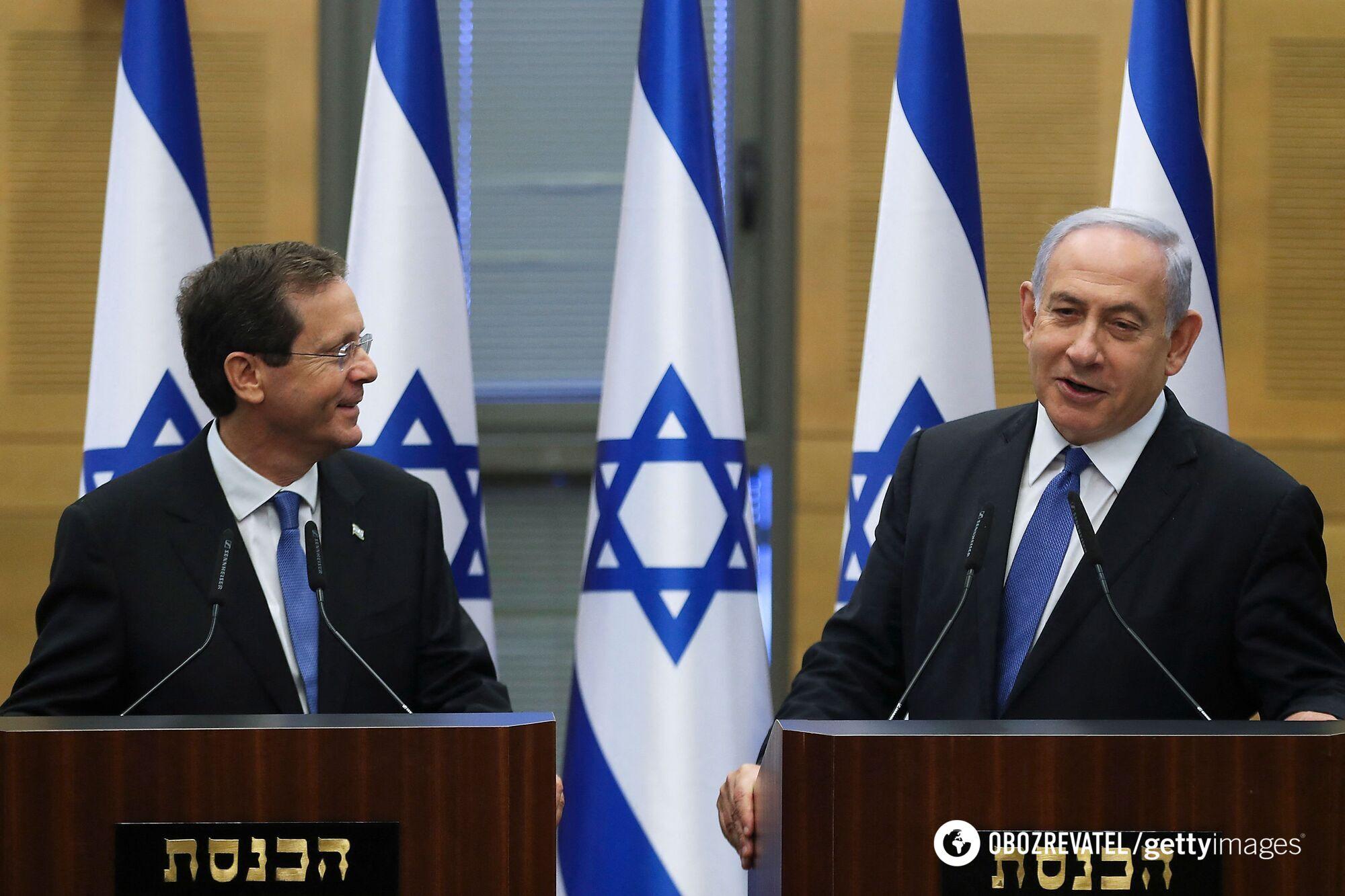 Герцог и Нетаньяху