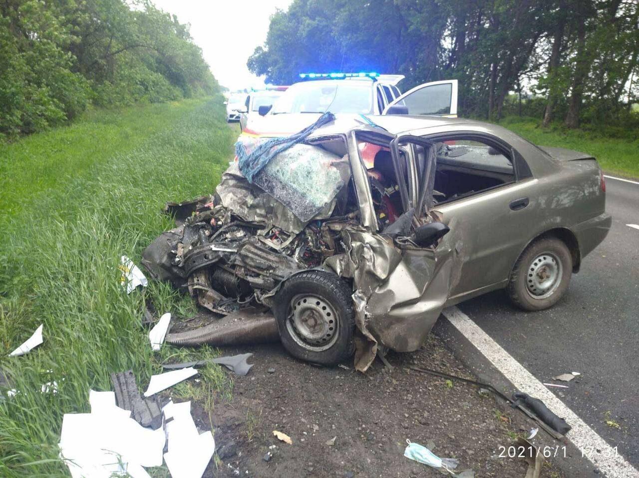 В этом авто погибли три человека
