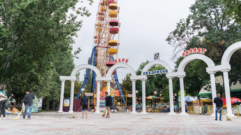 Скадовськ вважається найкращим місцем для відпочинку з маленькими дітьми