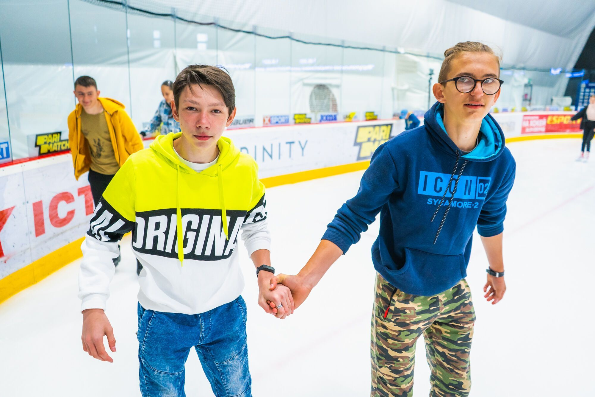 Фонд Бориса Колеснікова реалізує програму соціального катання для школярів із моменту відкриття Mariupol Ice Center