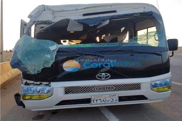 Смертельная авария произошла  между Каиром и Хургадой