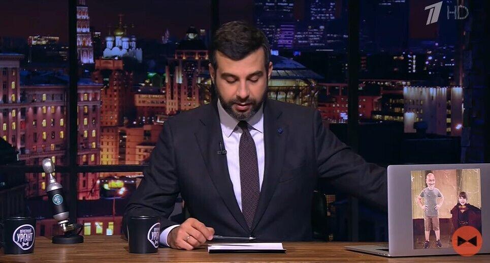Скриншот видео с программы Урганта.