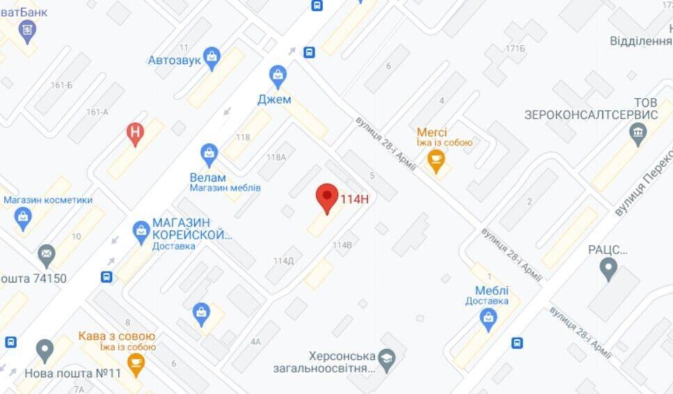 НП трапилася на території автостоянки на вул. Університетській, 114г