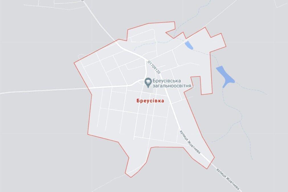 Злочин трапився у селі Бреусівка, де проживає приблизно 900 осіб