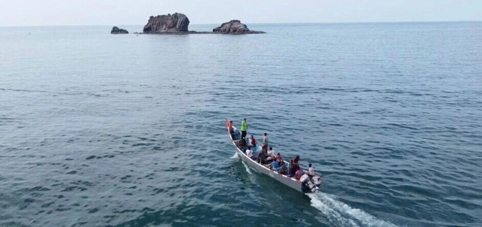 Рыбаки продолжают ловить рыбу