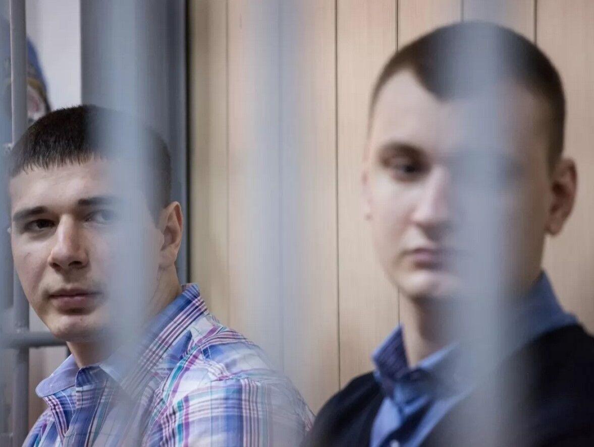 Бывшие беркутовцы Павел Аброськин и Сергей Зинченко