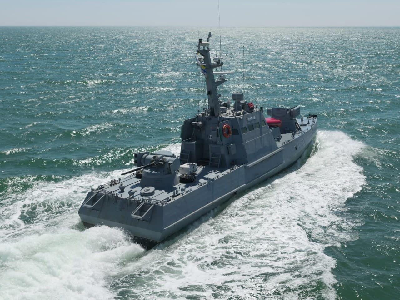 Тактико-спеціальні навчання завершилися маневрами малих броньованих артилерійських катерів ВМС