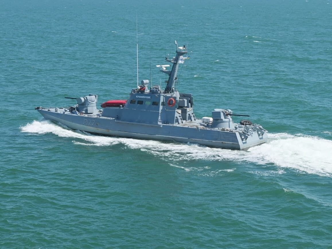 Морська частина навчань ЗСУ поблизу Криму