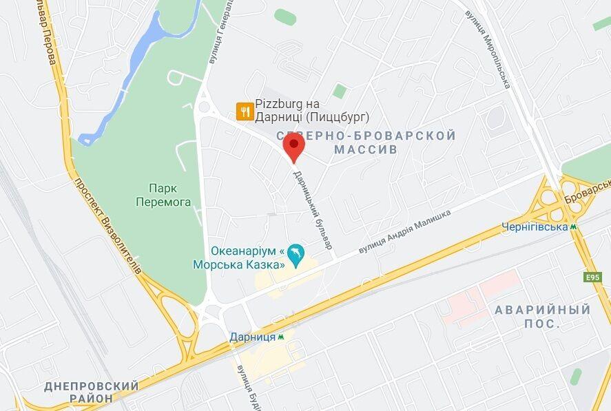 Прорив стався на Дапрницькому бульварі.
