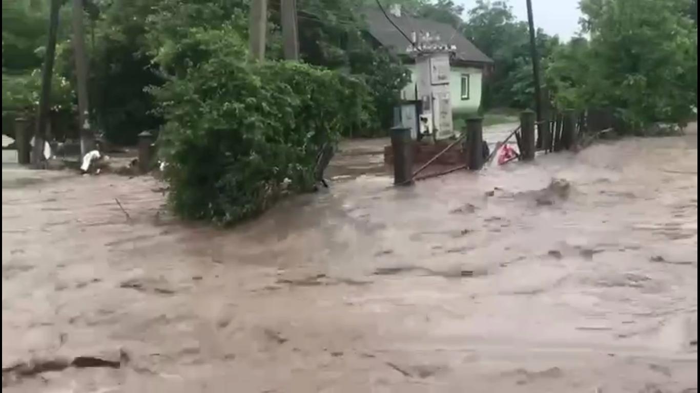 Последствия непогоды в Черновицкой области