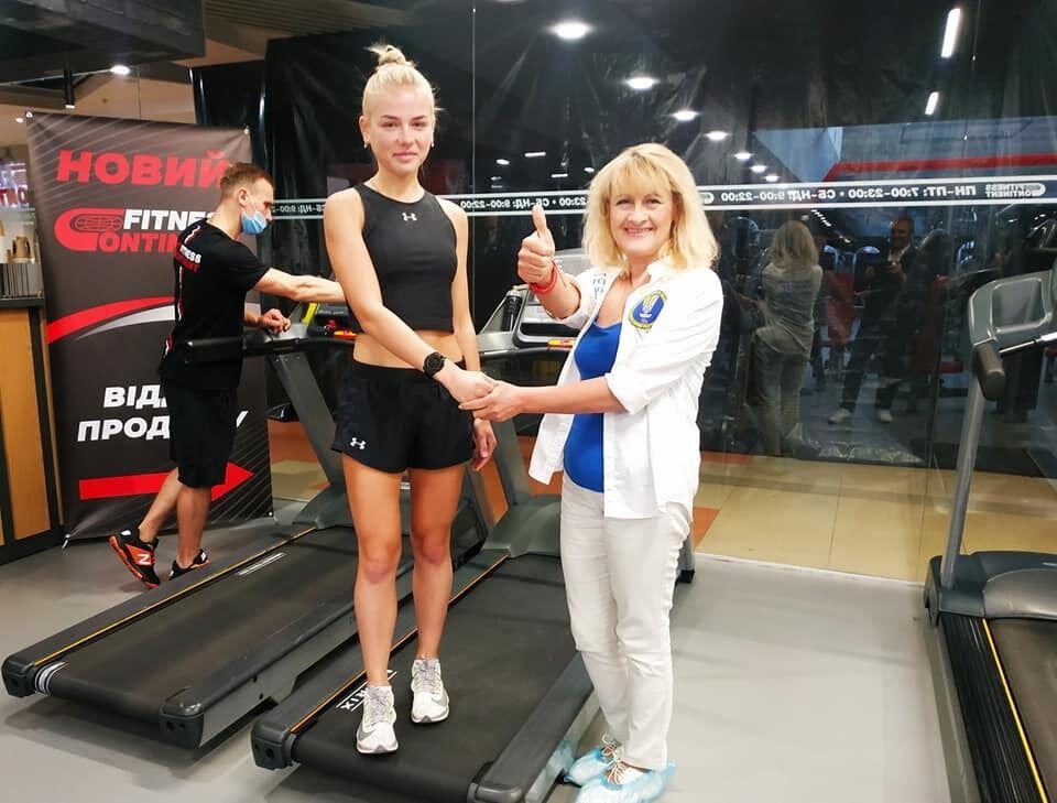 Катерина Долган з 16 років захоплювалася бігом.