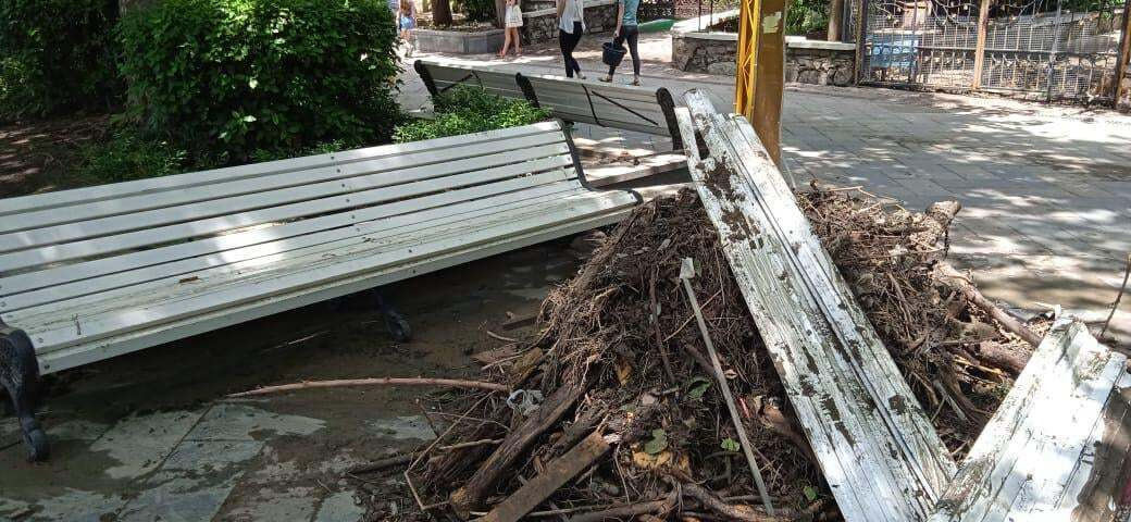 Розруха в Ялті після злив