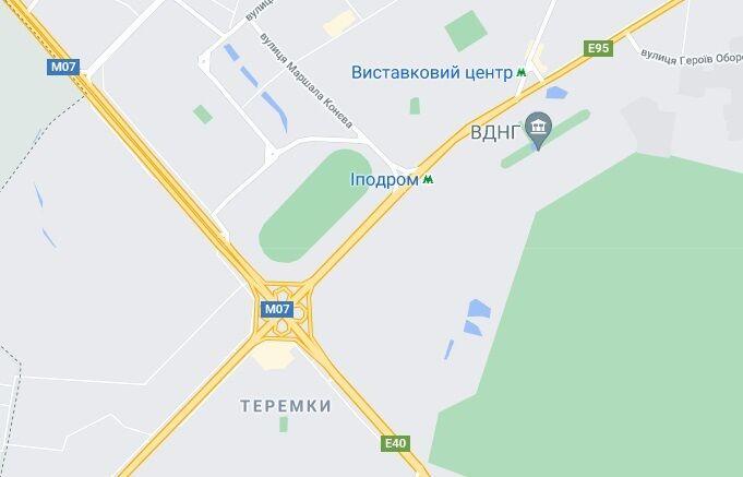 Таксі рухалось у напрямку Теремків.