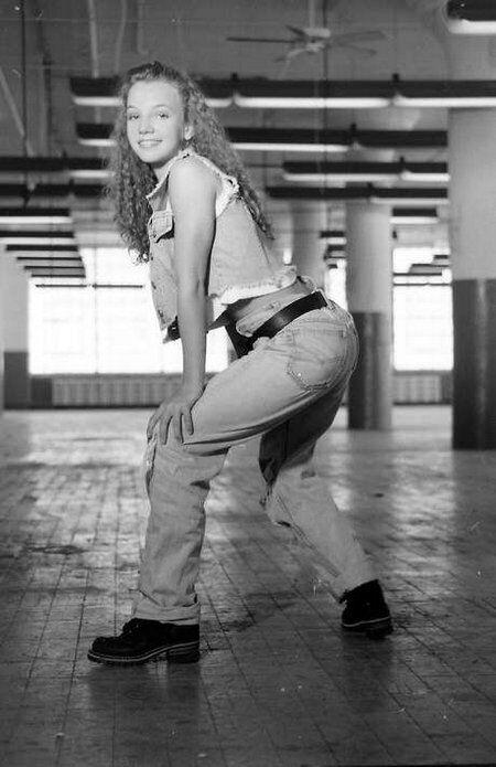 Бритни Спирс 26 лет назад: черно-белые снимки