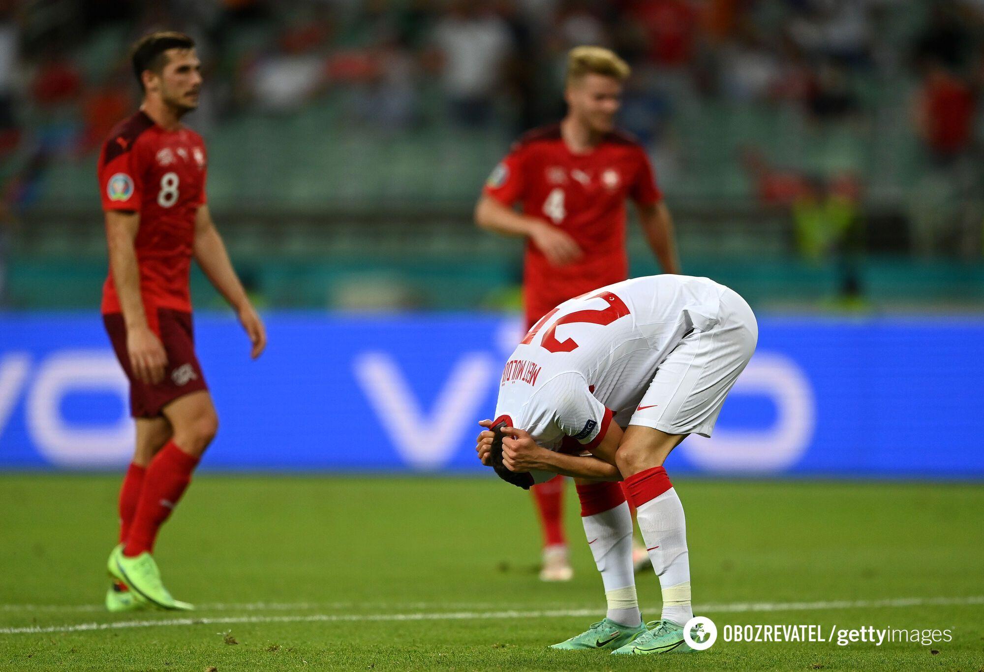 Турецькі футболісти погано зіграли в захисті