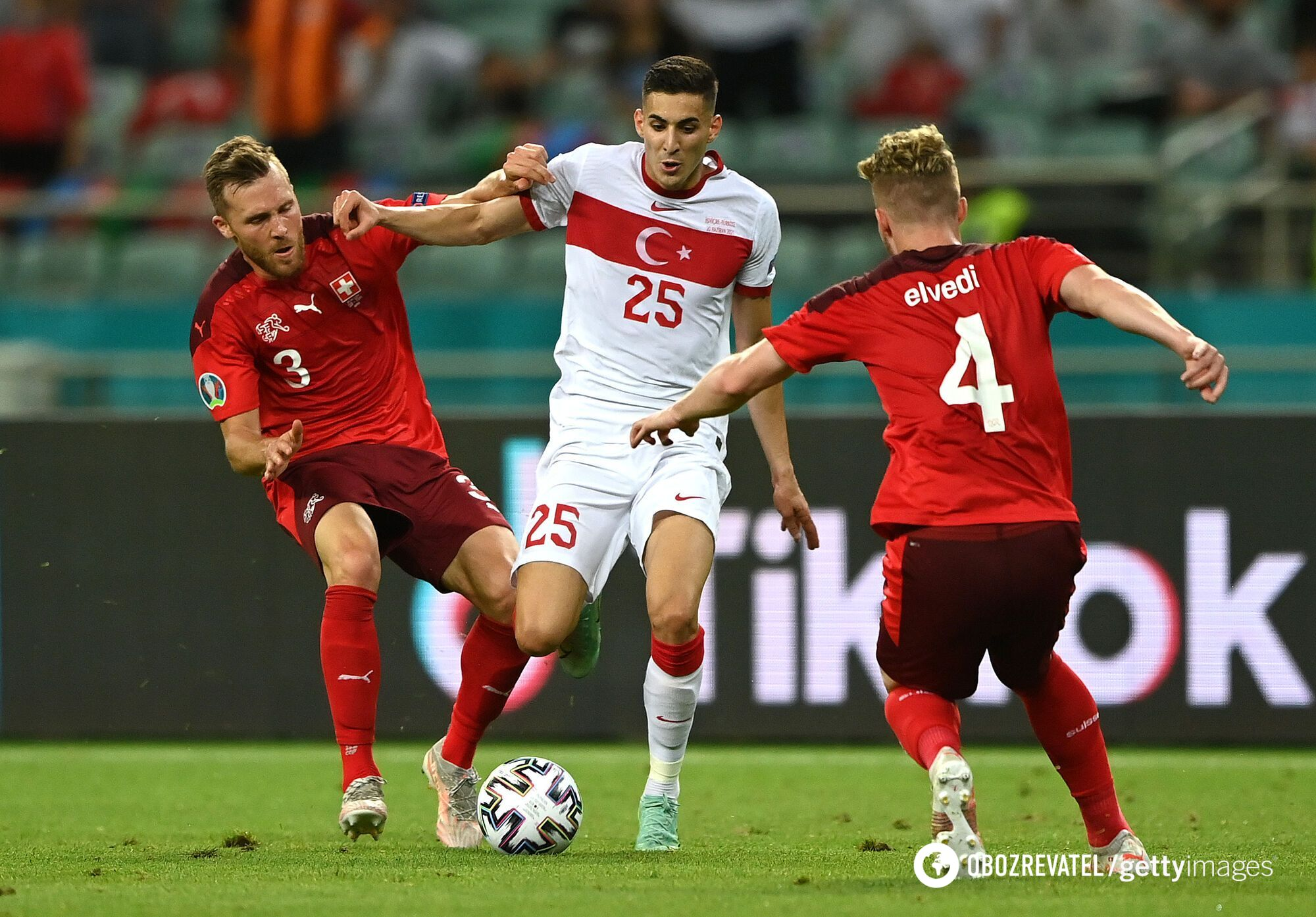 Туреччина програла Швейцарії