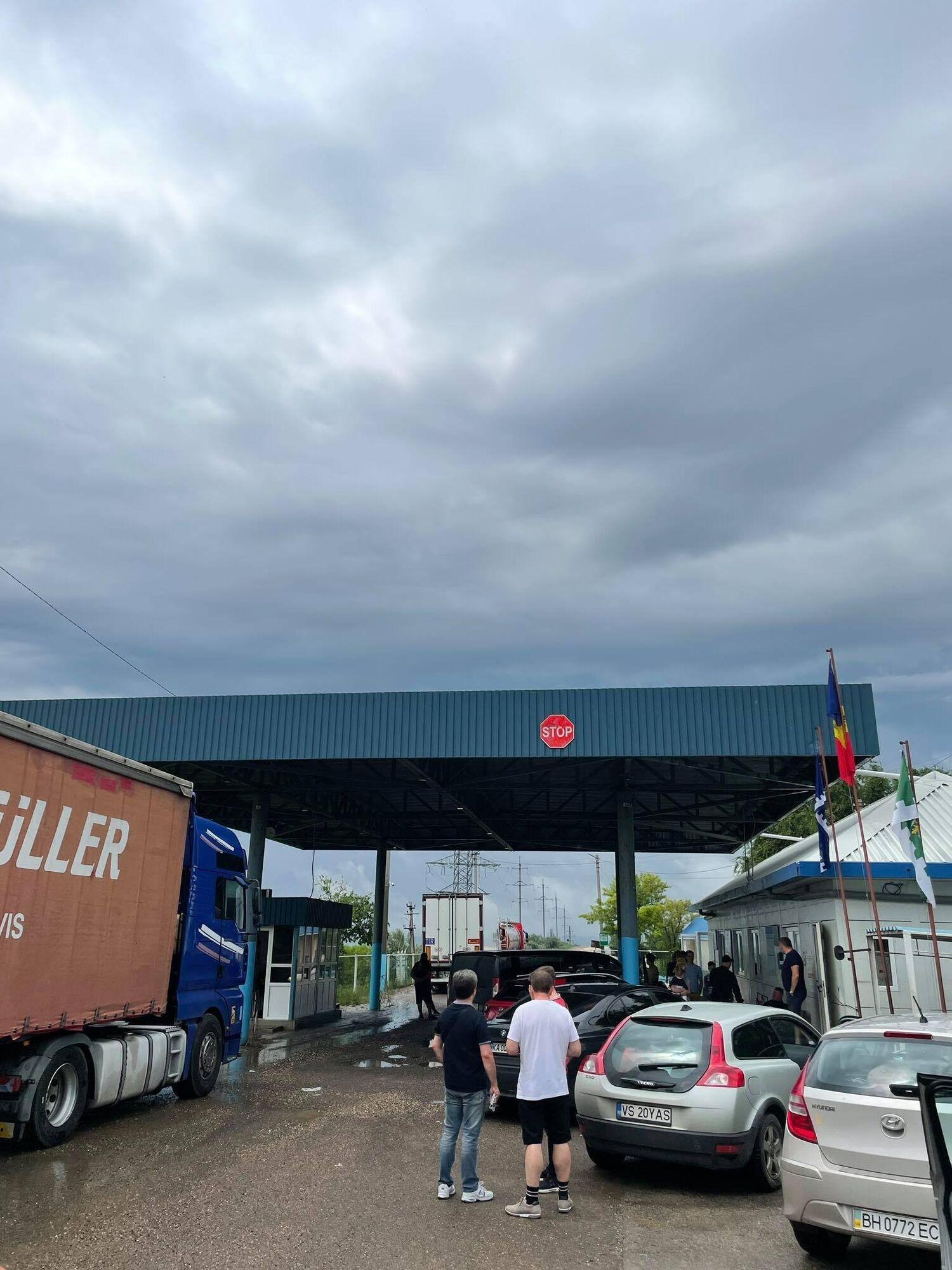 Пробка на границе