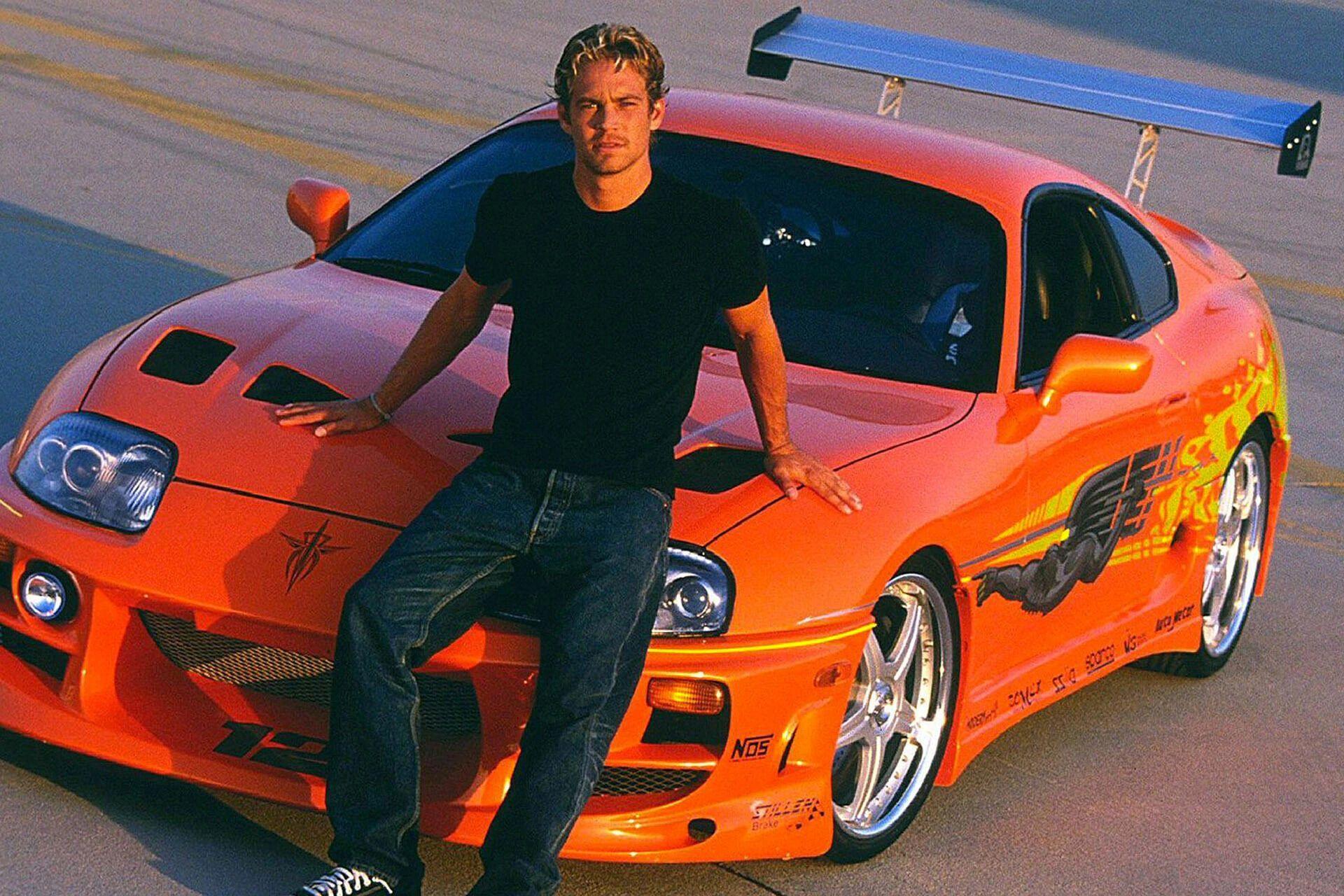 Пол Уокер та Toyota Supra