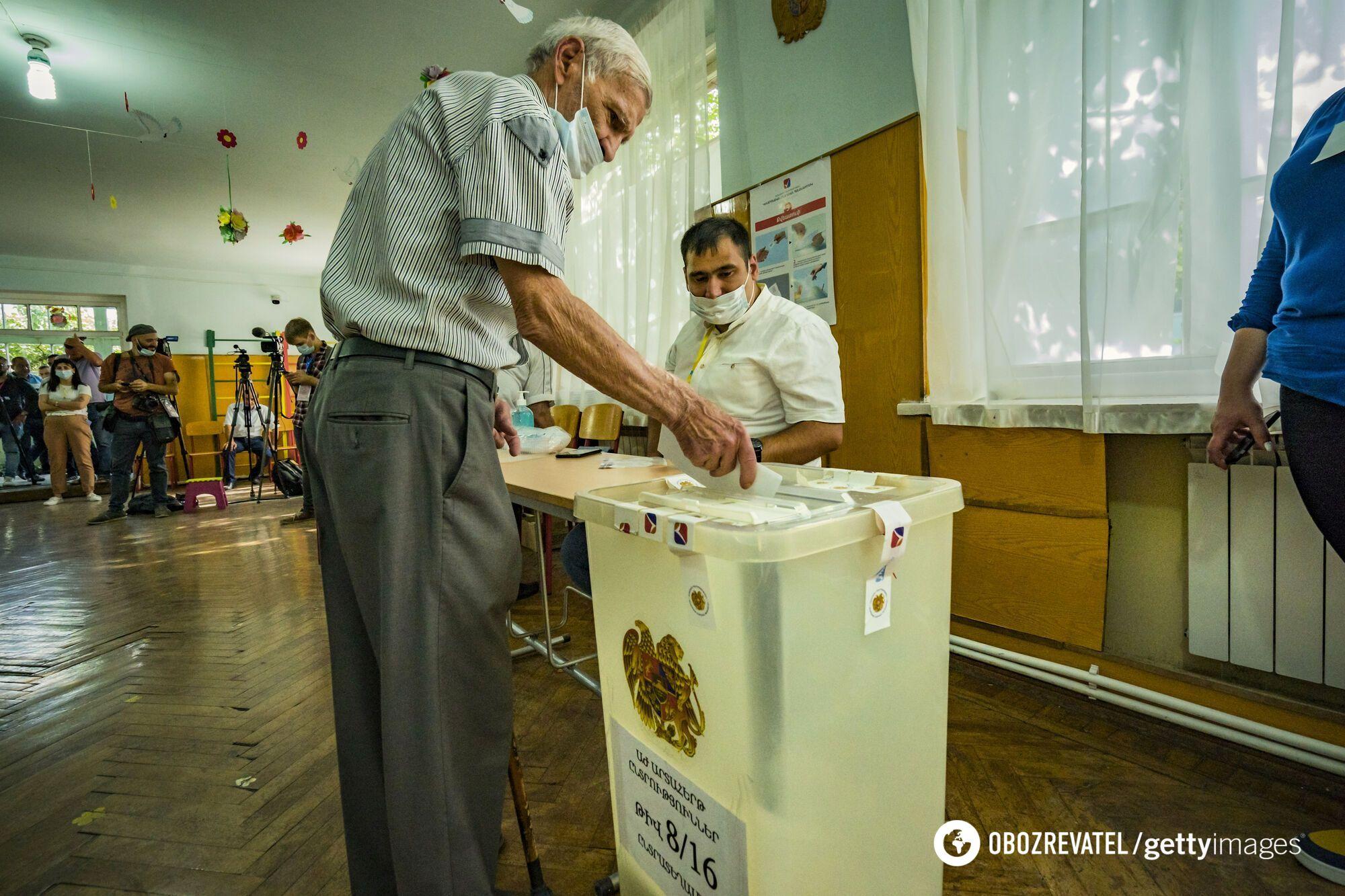Вибори в Вірменії