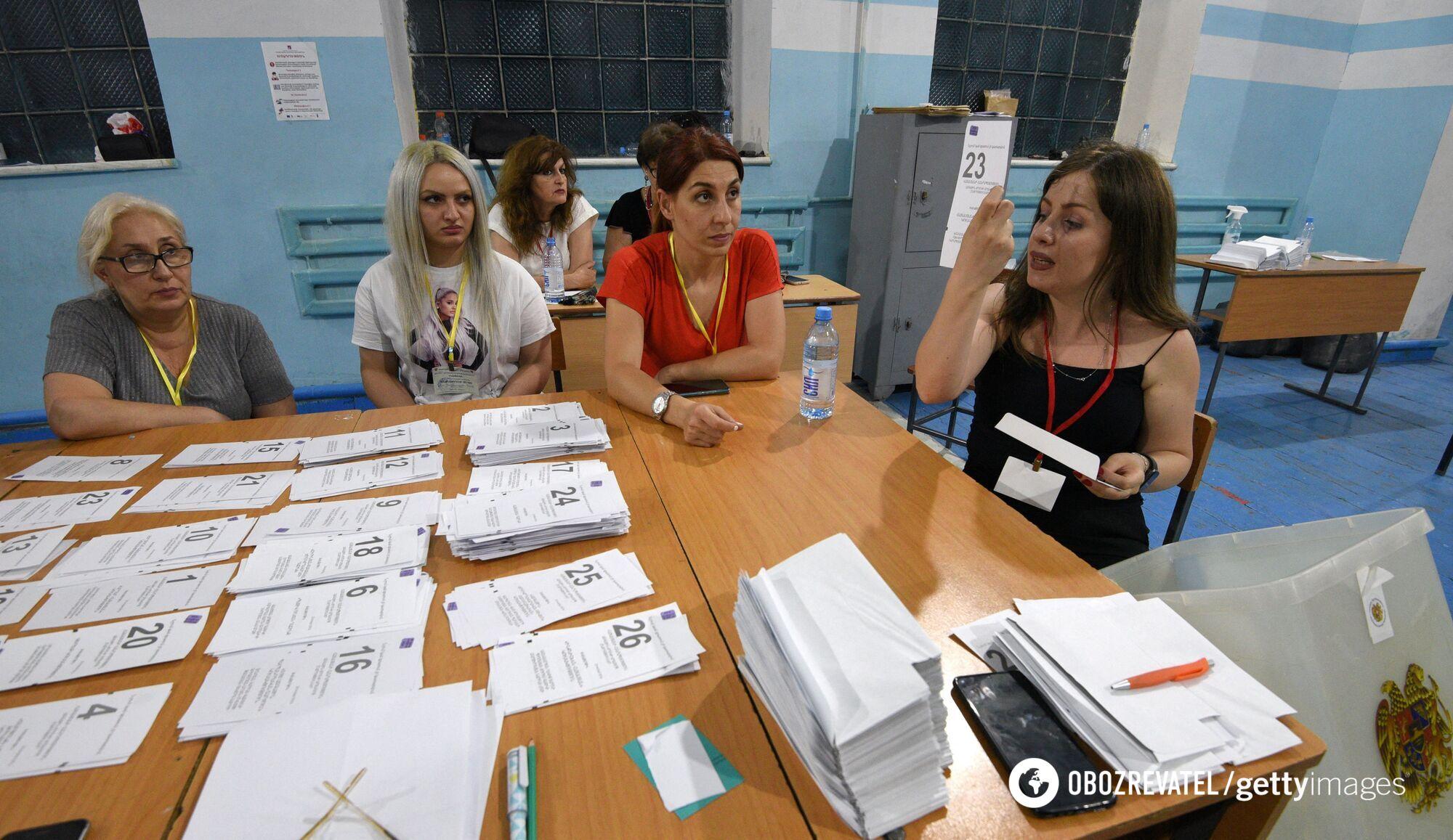 Вибори у Вірменії