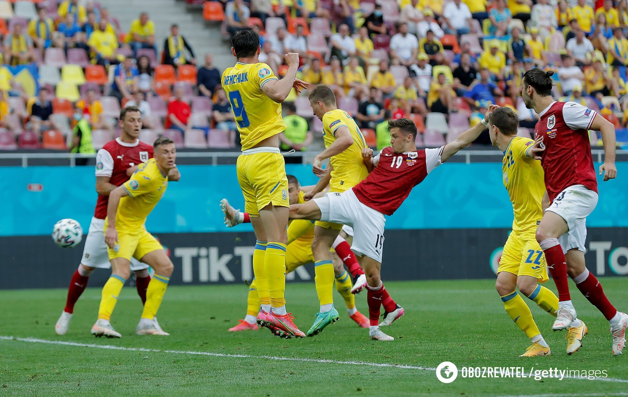 Баумгартнер забил единственный гол в матче