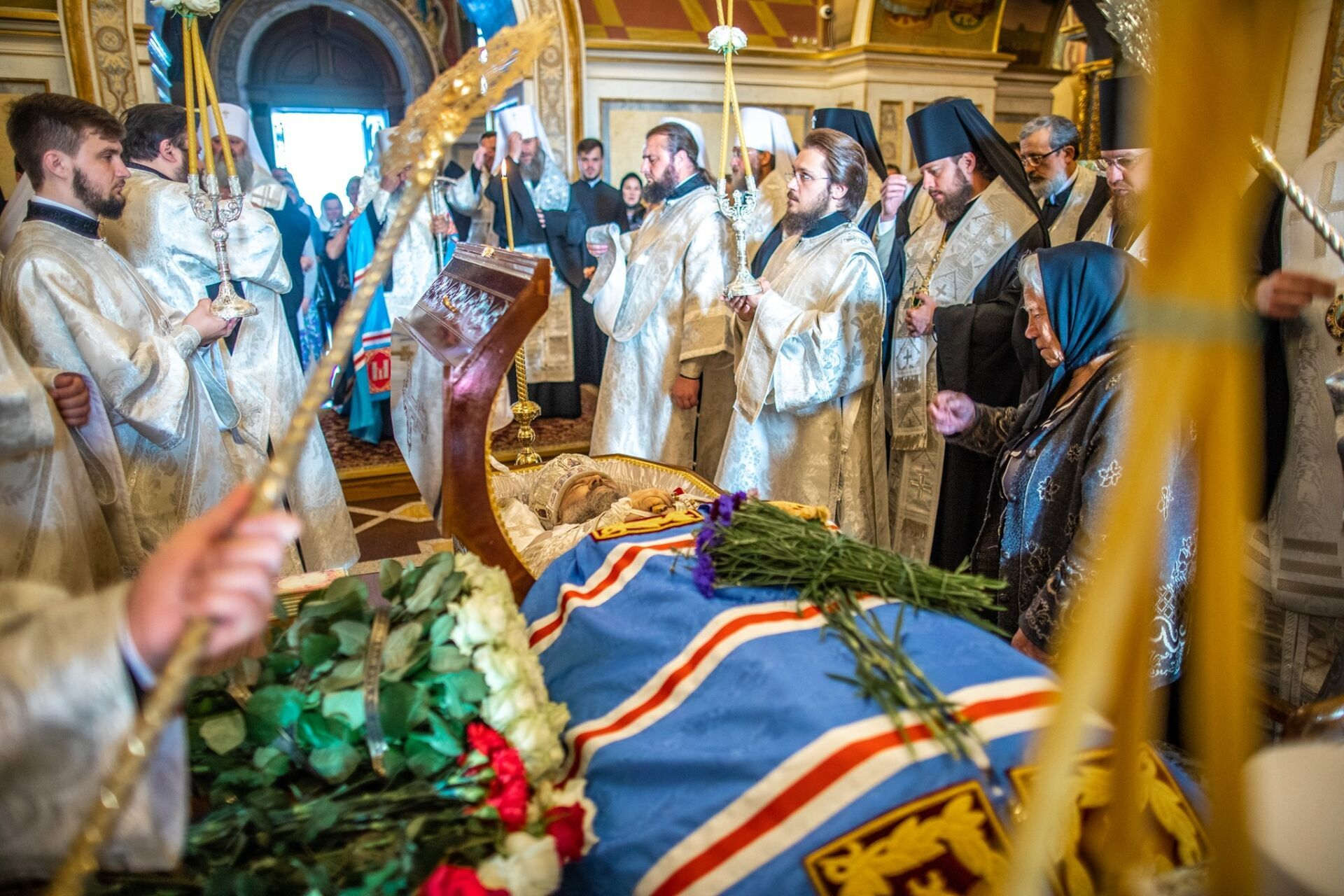 Похороны Митрофана.