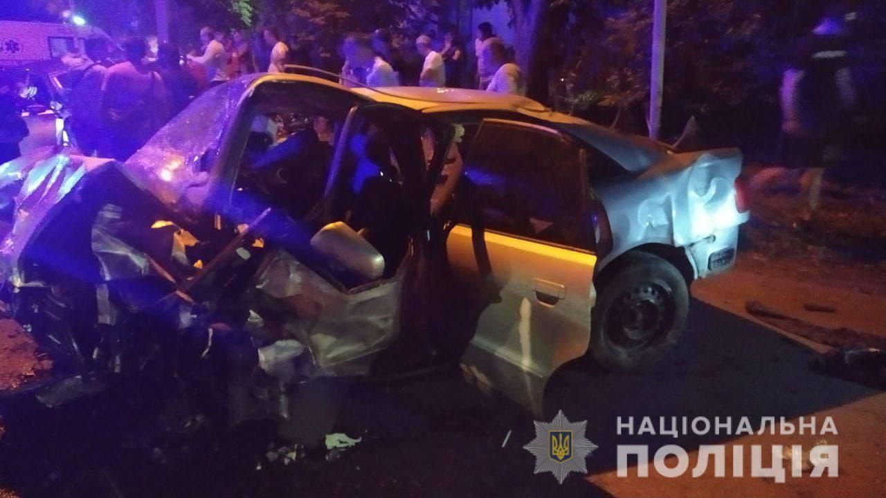 Розбите авто в Черкасах